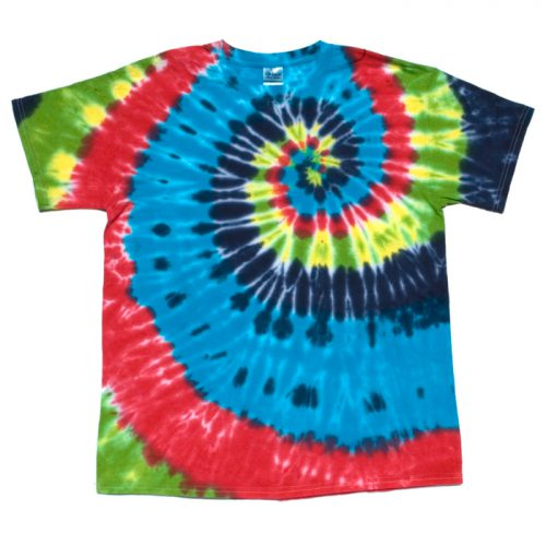 Rainbow Spiral Tie Dye Large