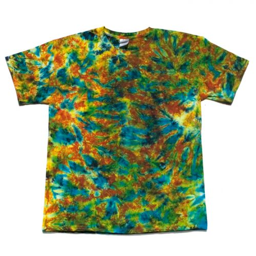 Kaleidoscope Daydream Tie Dye T Shirt Large
