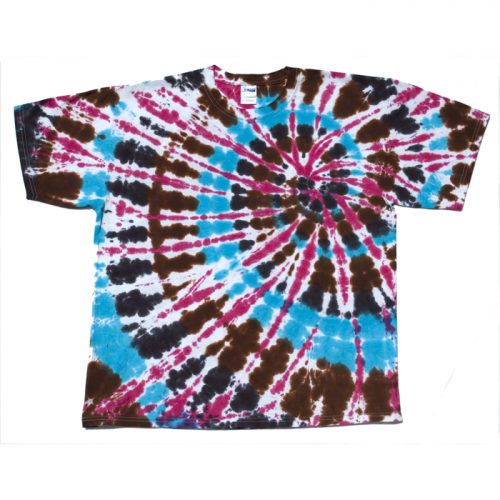 Bright Heart Spiral Tie Dye XL
