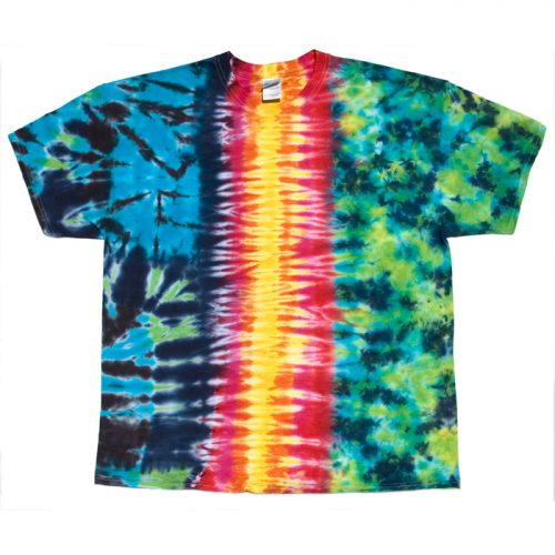 Three Way Rainbow Tie Dye XL